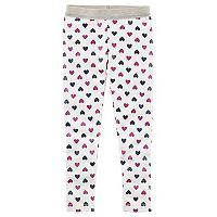 Girl's 4-8 Carter's Heart Print Leggings