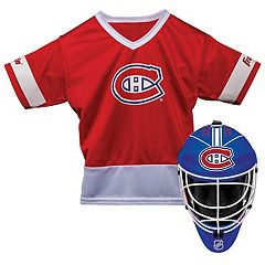 Youth Franklin Montreal Canadiens Goalie Face Mask & Jersey Set