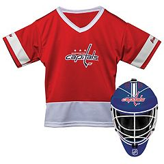 Youth Franklin Washington Capitals Goalie Face Mask & Jersey Set