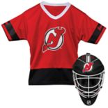 Youth Franklin New Jersey Devils Goalie Face Mask & Jersey Set