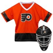 Youth Franklin Philadelphia Flyers Goalie Face Mask & Jersey Set