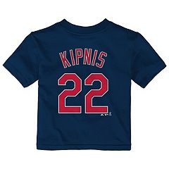 Baby Majestic Cleveland Indians Jason Kipnis Name and Number Tee