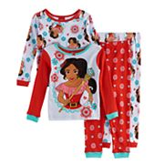 Disney's Elena of Avalor Toddler Girl 4 pc Pajama Set