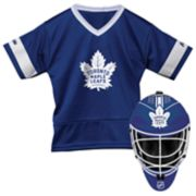 Youth Franklin Toronto Maple Leafs Goalie Face Mask & Jersey Set