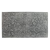 Chesapeake Branson Stonewashed Floral Rug - 2'3'' x 3'9''