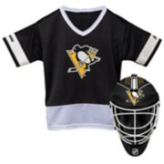 Youth Franklin Pittsburgh Penguins Goalie Face Mask & Jersey Set