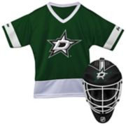 Youth Franklin Dallas Stars Goalie Face Mask & Jersey Set