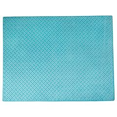 Chesapeake Memory Foam Geo Block Rug - 4' x 5'6''