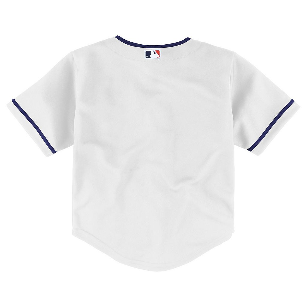 Toddler Majestic Cleveland Indians Cool Base Replica Jersey