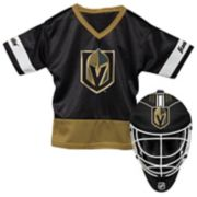 Youth Franklin Vegas Golden Knights Goalie Face Mask & Jersey Set