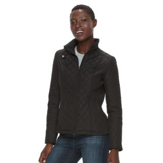 Women's Weathercast Quilted Midweight Moto Jacket