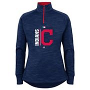 Girls 7-16 Majestic Cleveland Indians Team Icon Pullover