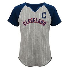 Girls 7-16 Majestic Cleveland Indians From the Stretch Tee