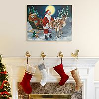 Artissimo Designs Almost Ready Christmas Canvas Wall Art