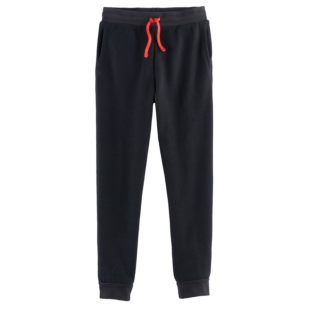 Boys 8-20 Tek Gear® Ultra-Soft Fleece Jogger Pants