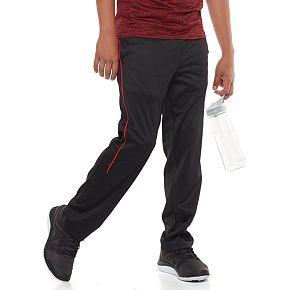 Boys 8-20 Tek Gear® Piped Tricot Training Pants in Regular & Husky