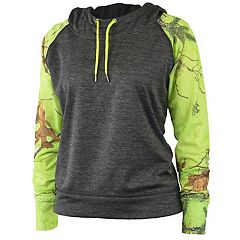 Women's Realtree Rise Fleece Funnel Neck Hoodie