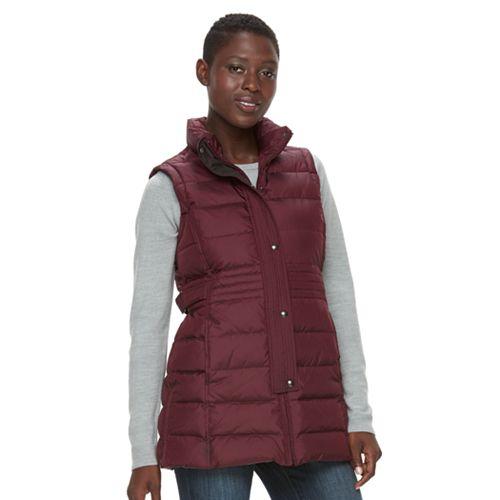 Women's Weathercast Down Puffer Vest