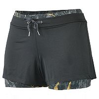 Women's Realtree Rise 2-in-1 Compression Shorts