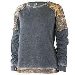 Women's Realtree Epic Crewneck Fleece Top