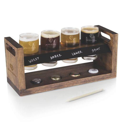 Picnic Time Baltimore Ravens Craft Beer Flight