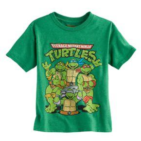 Boys 4-7 Teenage Mutant Ninja Turtles Classic Graphic Tee