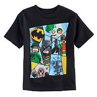 Boys 4-7 Lego Batman, Joker & Robin Graphic Tee
