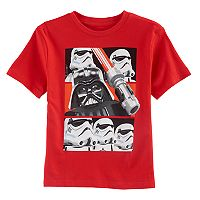 Boys 4-7 Lego Star Wars Darth Vader & Stormtrooper Graphic Tee