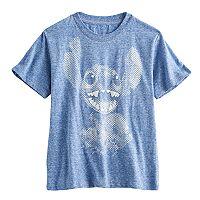 Disney's Stitch Boys 4-7 Heathered Graphic Tee