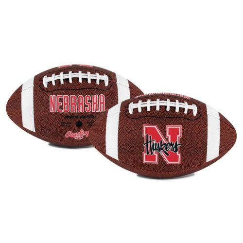 Rawlings Nebraska Cornhuskers Game Time Football