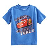 "Disney / Pixar Cars Boys 4-7 Lightning McQueen ""Legend of the Track"" Graphic Tee"