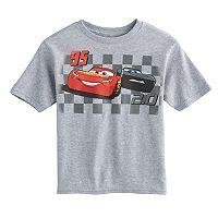 Disney / Pixar Cars 3 Boys 4-7 Lightning McQueen & Jackson Storm Tee
