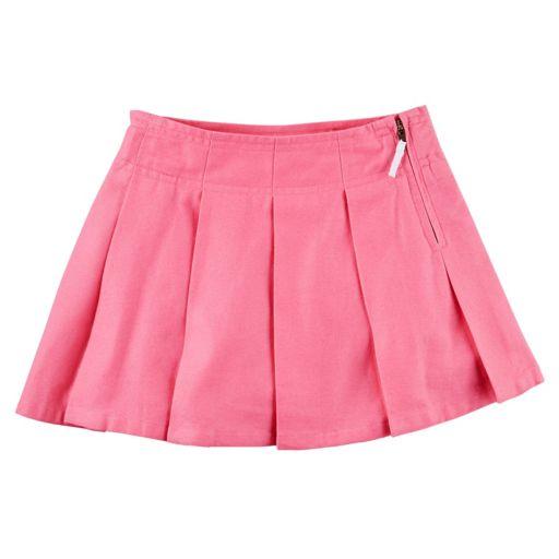 Girls 4-8 Carter's School Uniform Pleated Solid Skort