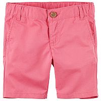 Girls 4-8 Carter's School Uniform Twill Shorts