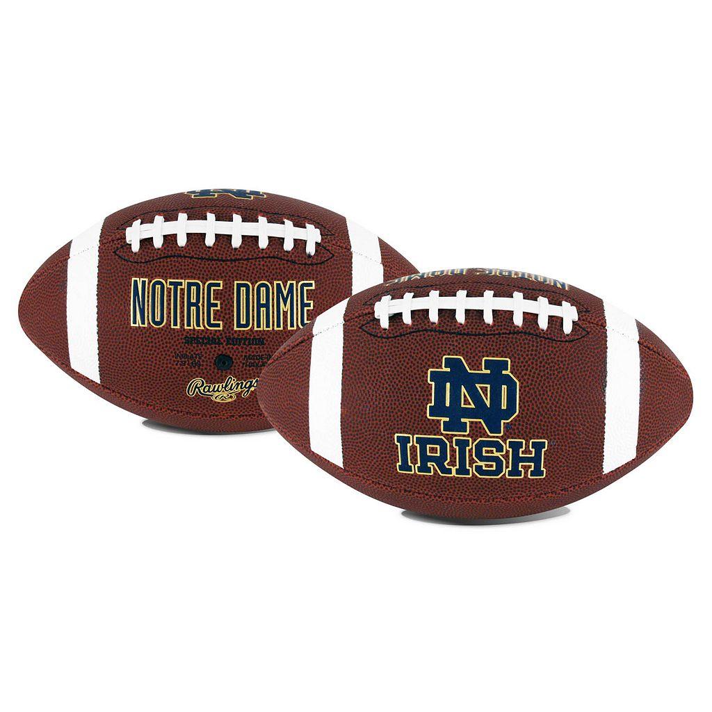Rawlings® Notre Dame Fighting Irish Game Time Football