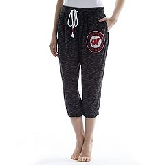 Women's Concepts Sport Wisconsin Badgers Backboard Capri Pants