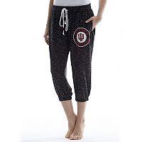 Women's Concepts Sport Indiana Hoosiers Backboard Capri Pants