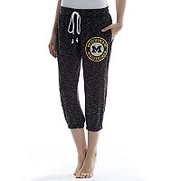 Women's Concepts Sport Michigan Wolverines Backboard Capri Pants