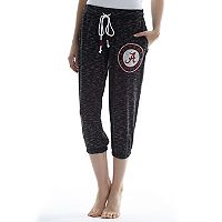 Women's Concepts Sport Alabama Crimson Tide Backboard Capri Pants