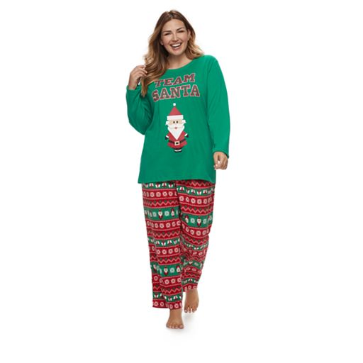 Women's Plus Jammies For Your Families