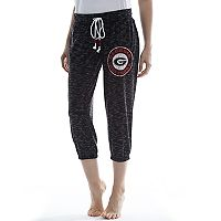 Women's Concepts Sport Georgia Bulldogs Backboard Capri Pants