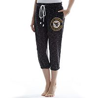 Women's Concepts Sport West Virginia Mountaineers Backboard Capri Pants