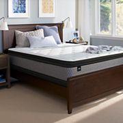 Sealy Essentials O'Neill Plush Pillow Top Mattress & Box Spring Set