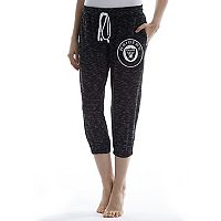 Women's Concepts Sport Oakland Raiders Backboard Capri Pants