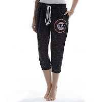 Women's Concepts Sport New York Giants Backboard Capri Pants