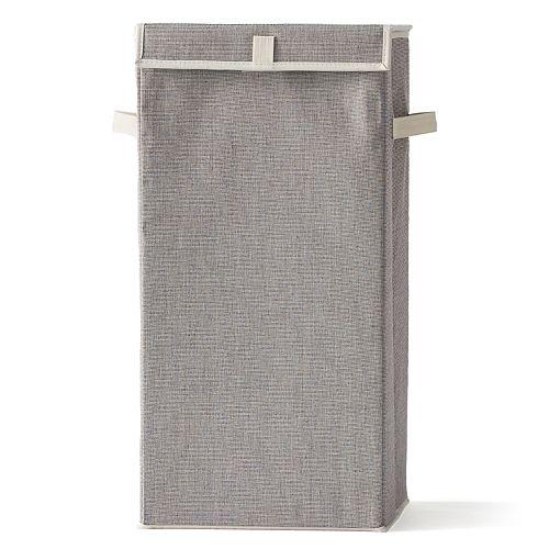 SONOMA Goods For Life™ Tweed Lidded Hamper
