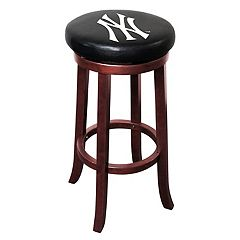 New York Yankees Wooden Bar Stool