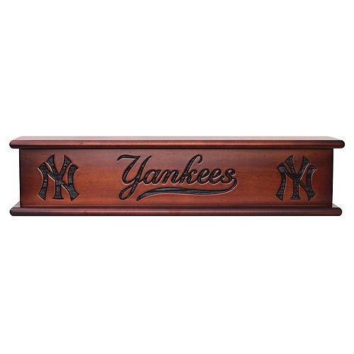 New York Yankees Memorabilia Shelf