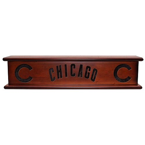 Chicago Cubs Memorabilia Shelf