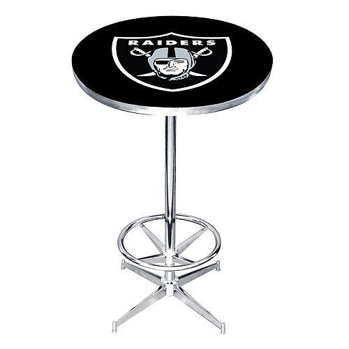 Oakland Raiders Pub Table